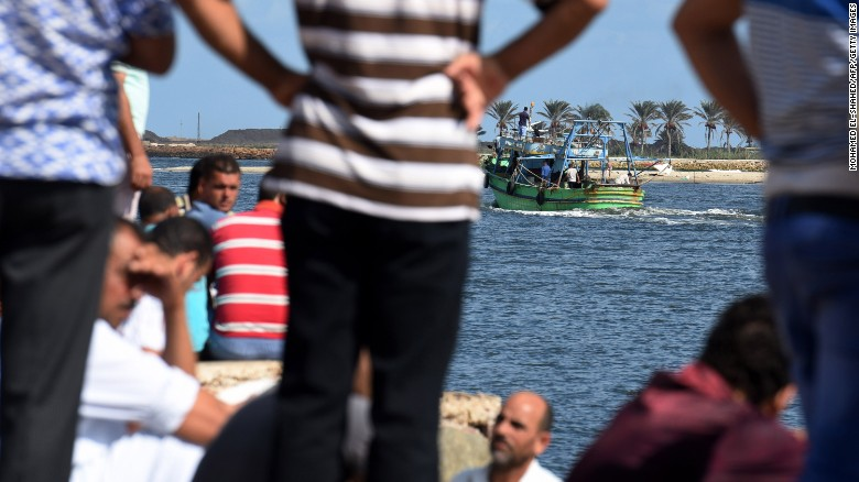 Final moments when migrant boat capsized