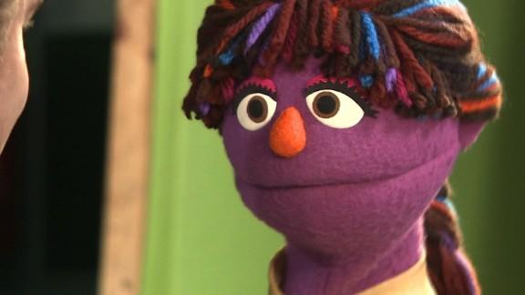 Zari the Afghani muppet