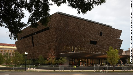 WASHINGTON, DC - SEPTEMBER 01:  The soon-to-be-opened Smithsonian National Museum of African American History and Culture is seen September 1, 2016 in Washingotn, DC. The museum was established by Act of Congress in 2003. It is the only national museum devoted exclusively to the documentation of African American life, history, and culture. A dedication ceremony will be held to mark the grand opening of the museum on September 24.  (Photo by Alex Wong/Getty Images)