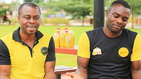 The Abolaji brothers are hoping to build a juice empire in Nigeria first.
