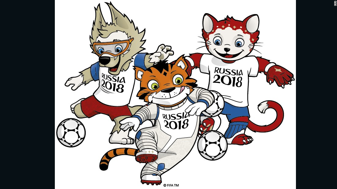 Image result for mascot of the FIFA World Cup 2018