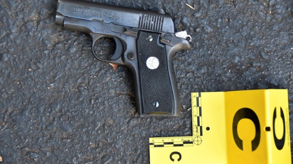 Police say Keith Scott had this gun on him when he was shot September 20.
