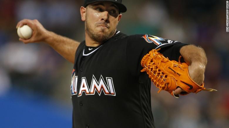 2879dec8 Miami Marlins pitcher Jose Fernandez dies in boat crash - CNN