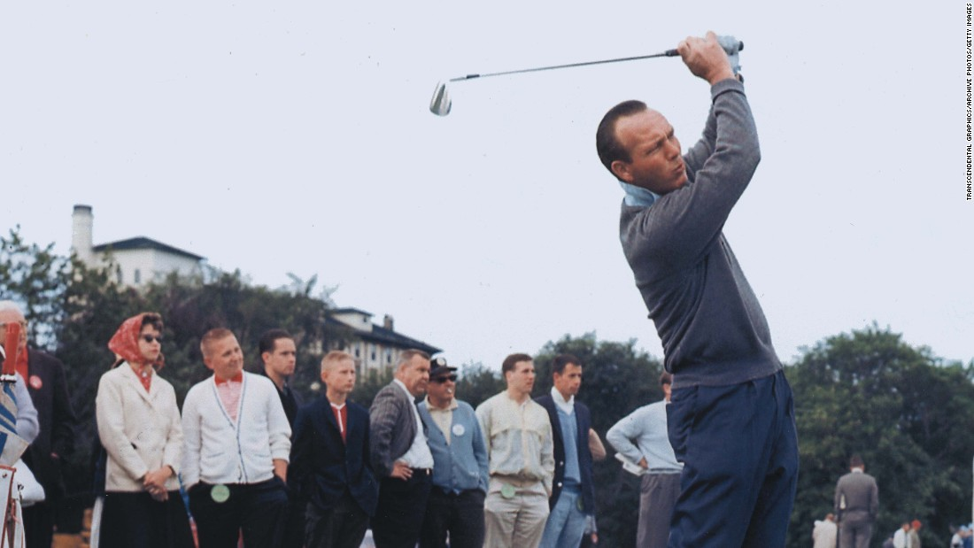 "Golfing legend <a href=""http://www.cnn.com/2016/09/25/us/arnold-palmer-death/index.html"" target=""_blank"">Arnold Palmer</a>, who helped turn the sport from a country club pursuit to one that became accessible to the masses, died September 25 at the age of 87, according to the U.S. Golf Association."