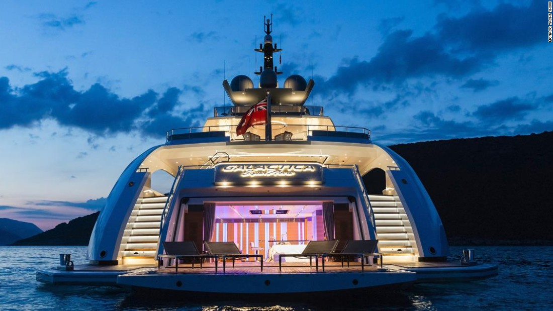 With a top speed of 30 knots (35 mph), she is one of the fastest superyachts in the world. Galactica Supernova combines high speed with long range and low fuel consumption.