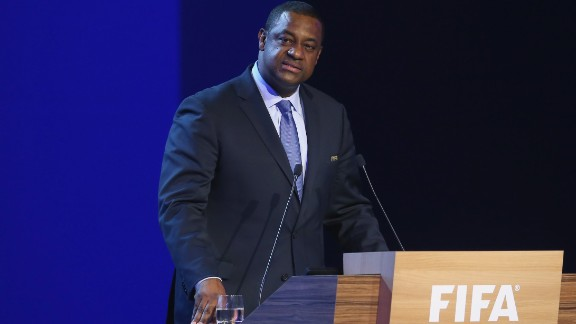 Jeffrey Webb was head of FIFA's anti-racism task force before his arrest in 2015.