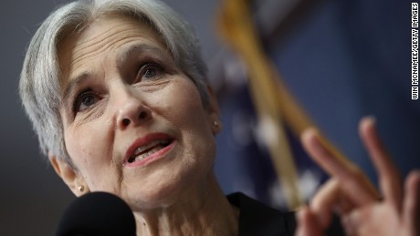 Green Party presidential nominee Jill Stein answers questions during a press conference at the National Press Club August 23, 2016 in Washington, DC.