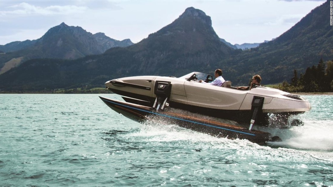 "Making its second straight Monaco Yacht Show appearance, the Kormaran K7 is ideal for those who can't quite make their mind up. Interchangeable between a monohull, katamaran, trimaran and even a sunbathing platform, it can be yours for ""under $5.6 million."""