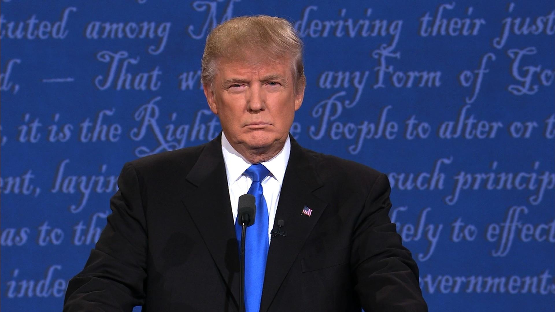 Trump and clinton spar over nafta cnn video