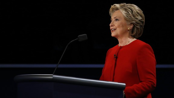 Clinton, 68, is the first woman to lead a presidential ticket for one of the major political parties. She has been a U.S. senator and secretary of state.