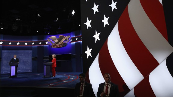 The debate took place 43 days before Election Day. There are two more debates scheduled.