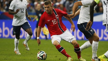 Valon Berisha played 20 games for Norway before deciding to move to the Kosovo national team.