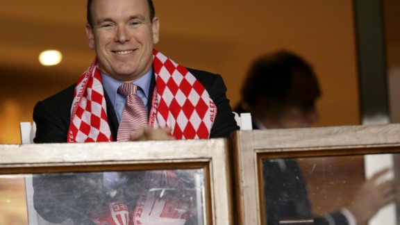 Prince Albert II, the reigning monarch of Monaco, is regularly seen in the stands during home games.
