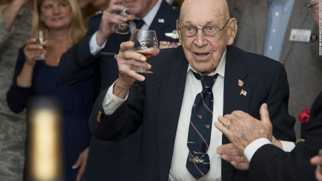 Cole, Doolittle and their three crewmen safely parachuted to the ground. Days later, friendly Nationalist Chinese troops escorted them to a US military aircraft, which flew them to safety. Now 101 years old, Cole is the last living Doolittle raider. He toasted the mission's 75th anniversary in April 2016 at Joint Base San Antonio-Randolph, Texas.