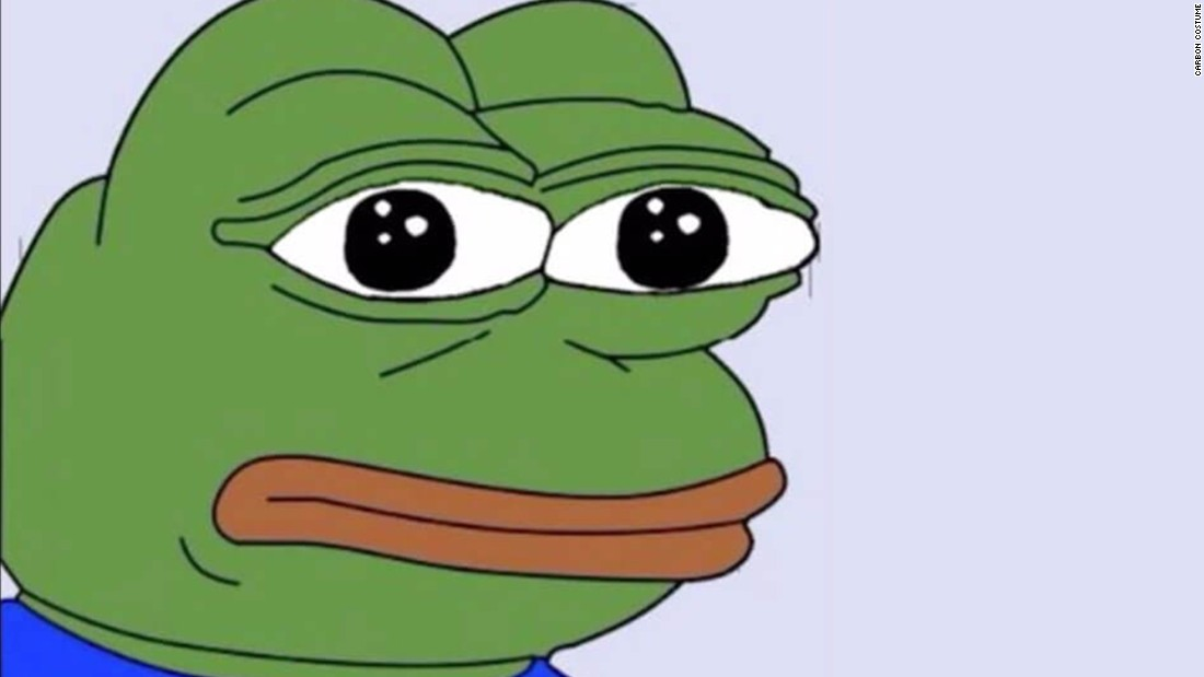 Pepe The Frog Designated Hate Symbol By Adl Cnn