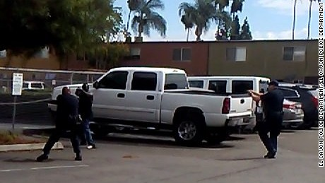 El Cajon police release video of fatal officer-involved shooting