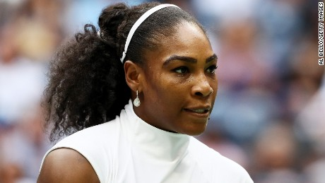 Serena Williams sends a message to mothers after Wimbledon loss
