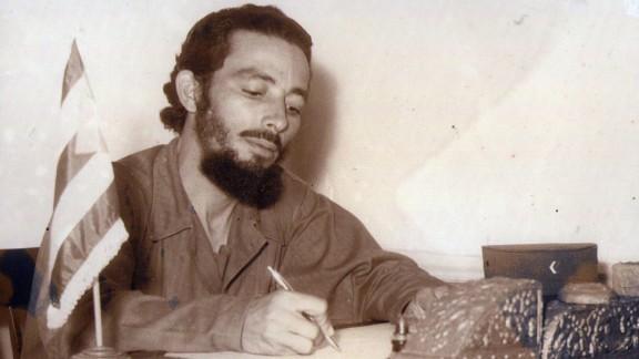 Boris Sanchez's grandfather Jose Sanchez battled to liberate Cuba as a young man.