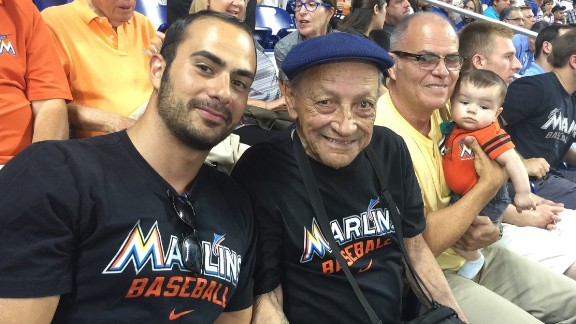 Boris Sanchez is a baseball fan just like his grandfather was. The elder Sanchez died in January.