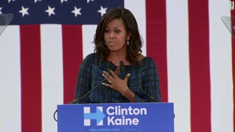 michelle obama clinton campaign anti-trump lines sot_00000823.jpg