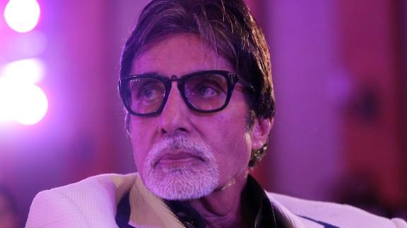 Bollywood actor Amitabh Bachchan in Mumbai, India, last year.