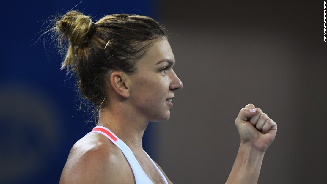 Simona Halep began the year slowly but picked up steam, especially after the French Open. The Romanian made the final in Singapore two years ago, losing to Williams.