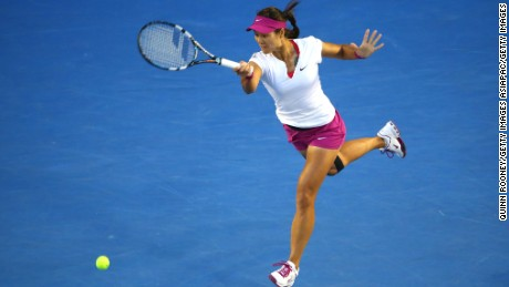 National treasure Li Na retired from tennis in 2014