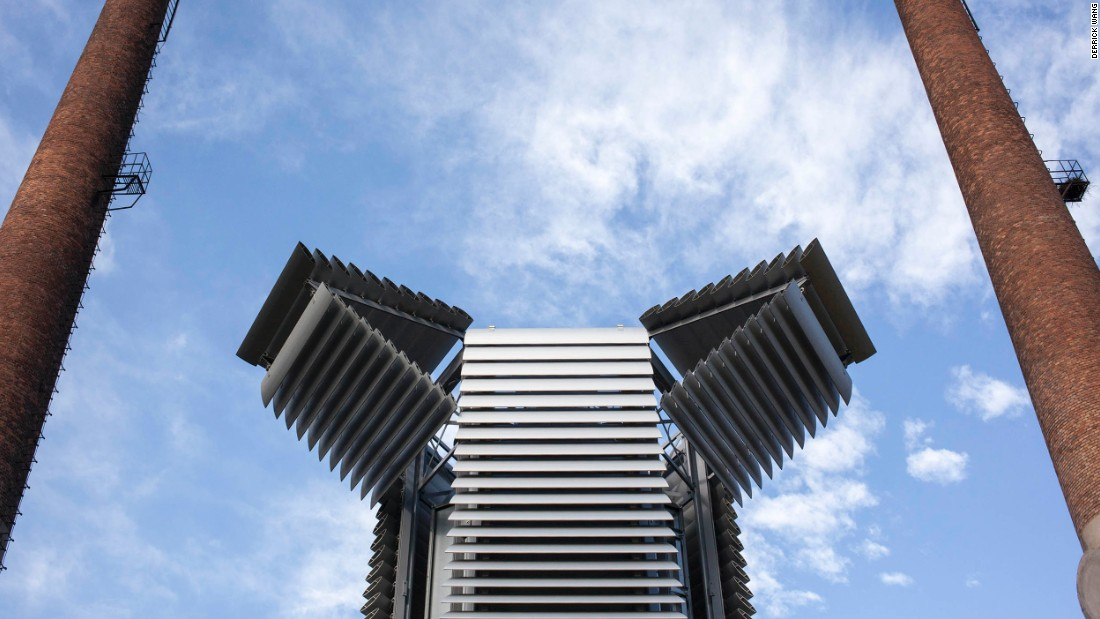 Could This Smog Eating Tower End Pollution In China Cnn Style