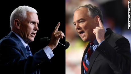 Will Kaine-Pence debate live up to Clinton-Trump faceoff?