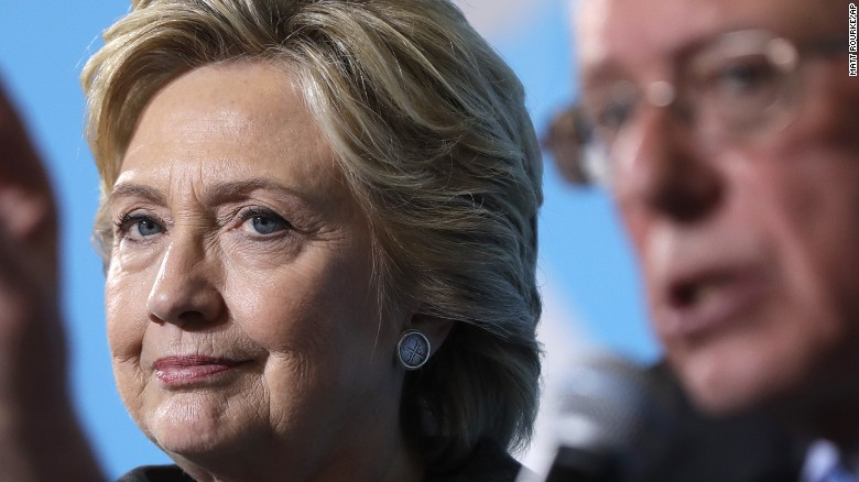 Hacked email reveals Clinton's opinion on Sanders' fans