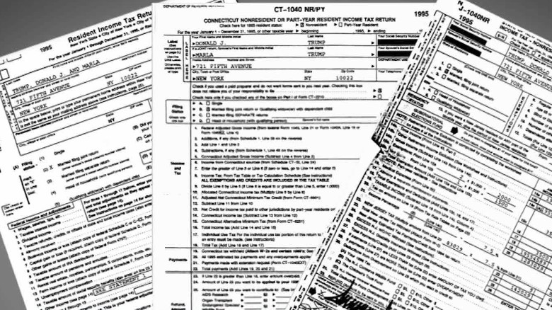 Examining Donald Trump's taxes
