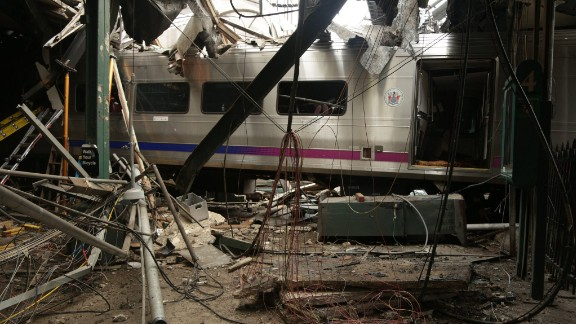 NJ Transit Pascack Valley Line train #1614 crashed at the New Jersey Transit Hoboken Terminal September 29.