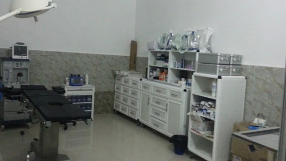 The hospital before Sunday