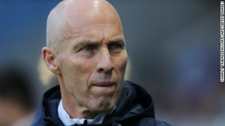 Bob Bradley oversaw a run of seven league defeats during his 11 games in charge at Swansea City