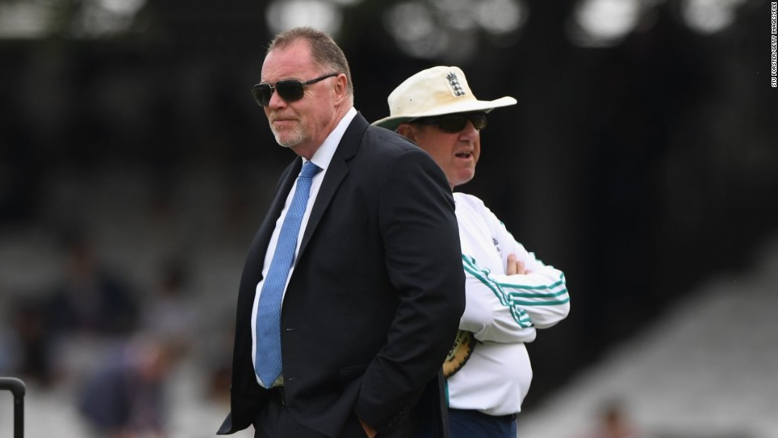 Reg Dickason (L), the England team's security manager, declared Bangladesh safe to tour after visiting several times to assess the situation. Australia pulled out of a tour in late 2015 on government advice then withdrew its Under-19 team from the World Cup there earlier this year.