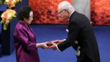Chinese scientist Tu Youyou was awarded the Nobel Prize for Medicine in 2015.