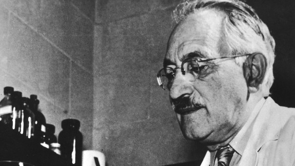 """Selman Abraham Waksman is credited for developing streptomycin, the first antibiotic to treat tuberculosis. Waksman's sole credit is contentious, however, because Albert Schatz, one of Waksman's graduate students at Rutgers University, was considered <a href=""""https://www.acs.org/content/acs/en/education/whatischemistry/landmarks/selmanwaksman.html"""" target=""""_blank"""" target=""""_blank"""">a co-discoverer of the drug</a>."""