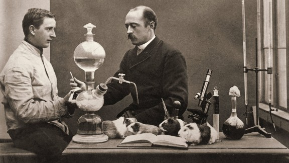 """Known as the """"savior of children,"""" Emil Adolf von Behring is credited for developing an antitoxin for diphtheria, a disease that killed hundreds of thousands of children in the 19th and early-20th centuries. Behring was the first recipient of the Nobel Prize in Physiology or Medicine."""