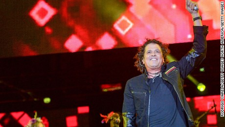MIAMI, FL - DECEMBER 05: Carlos Vives on stage at Grand Slam Party Latino at Marlins Park on December 5, 2015 in Miami, Florida. (Photo by Rodrigo Varela/Getty Images)