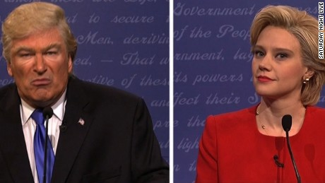 'SNL' vs. real thing: Who debated better?