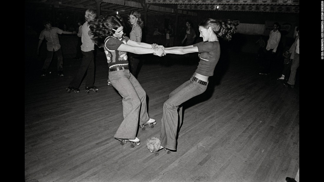 Tbt Scenes From A 1970s Roller Rink