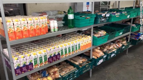 The UK's first waste food supermarket recently opened in the northern city of Leeds.