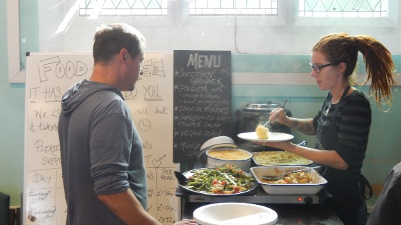 The Real Junk Food Project is a network of cafes and shops that sell