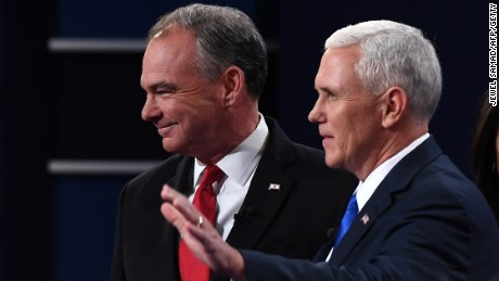Kaine, Pence debate: CNN's Reality Check Team vets the claims
