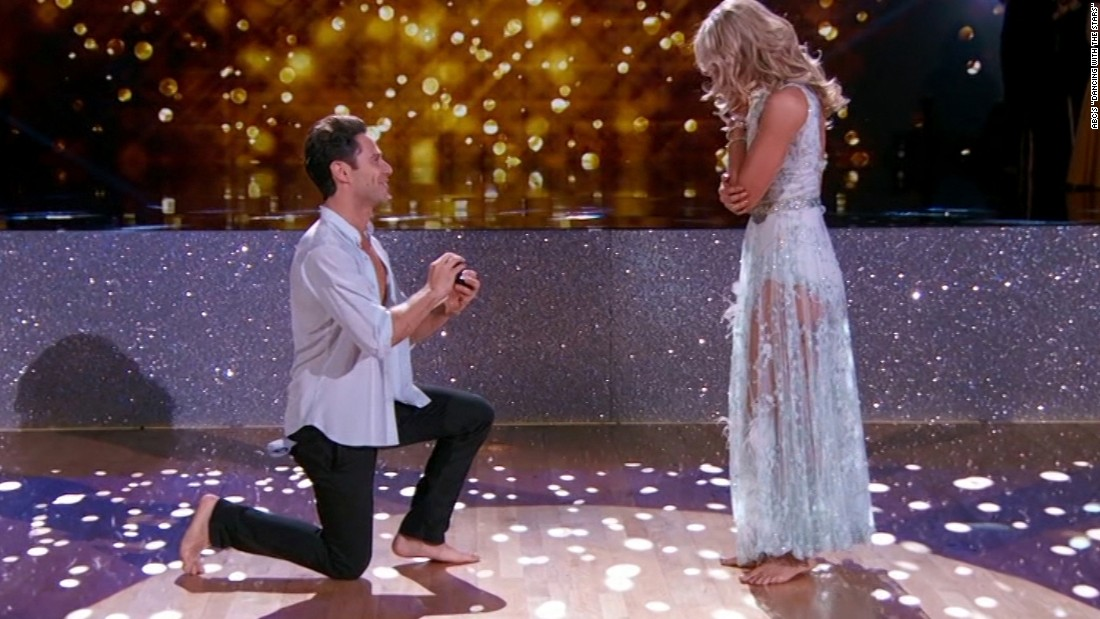 Surprise Marriage Proposal On Dancing With The Stars Cnn Video