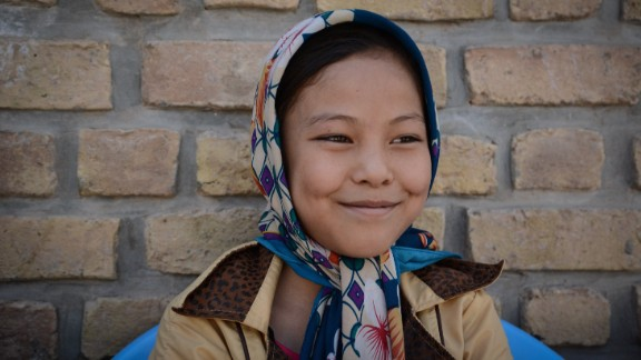 """""""Some fathers say boys have to go to school, girls have to stay at home,"""" said 12-year-old Razia, who is studying at Gabreal Girls High School. """"It"""