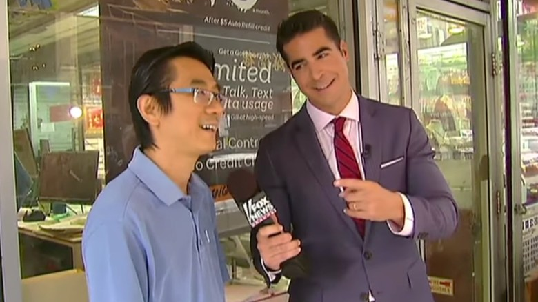 """Fox News' Jesse Watters interviews Chinese Americans in a controversial  """"O&"""