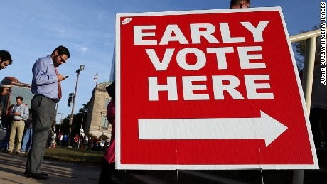 Early voting indicates 450,000+ ballots already cast