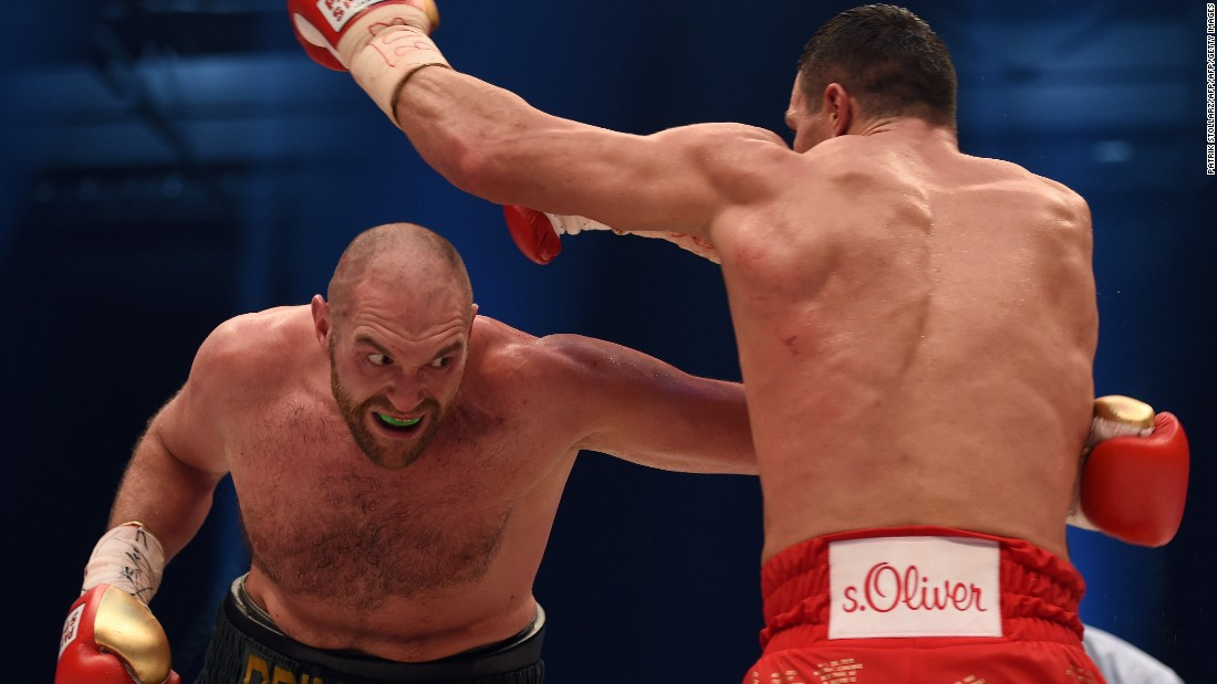 In one of the greatest shocks in heavyweight history, Fury took Klitschko's IBF, IBO, WBA and WBO titles on November 28, 2015.