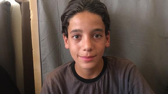 Teenager Amjad was chief librarian at Darayya's underground library